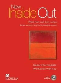 New Inside Out Upper-Intermediate Workbook Pack with Key