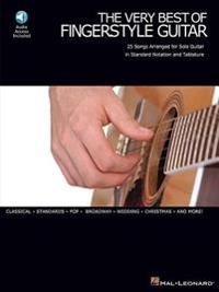 The Very Best of Fingerstyle Guitar: 25 Songs Arranged for Solo Guitar in Standard Notation and Tablature [With CD (Audio)]