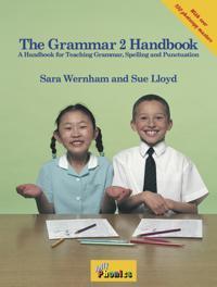 Grammar 2 handbook - in precursive letters (be)