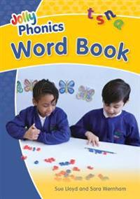Jolly phonics word book - in precursive letters (be)