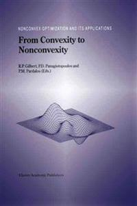 From Convexity to Nonconvexity