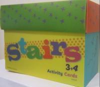 Stairs 3+4. Activity cards. 128 oppgavekort. 16 kategorikort. 5 fasithefter - Heidi Håkenstad, Marianne Undheim Vestgård | Ridgeroadrun.org