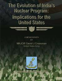 The Evolution of India's Nuclear Program: Implications for the United States