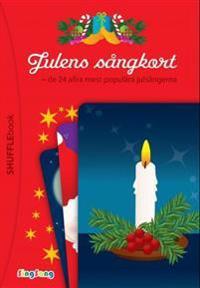 Julens sångkort; de 24 allra mest populära julsångerna