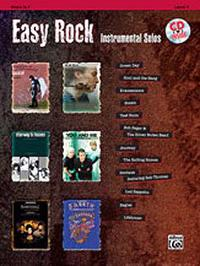Easy Rock Instrumental Solos, Level 1: Horn in F, Book & CD [With CD (Audio)]