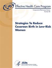 Strategies to Reduce Cesarean Birth in Low-Risk Women: Comparative Effectiveness Review Number 80