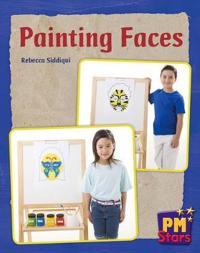 Painting Faces PM Stars Blue Non Fiction