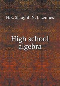 High School Algebra