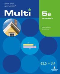 Multi 5a, 2. utgave - Bjørnar Alseth, Gunnar Nordberg, Mona Røsseland | Inprintwriters.org