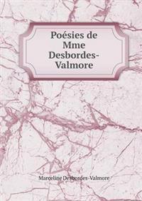 Poesies de Mme Desbordes-Valmore