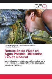 Remocion de Fluor En Agua Potable Utilizando Zeolita Natural