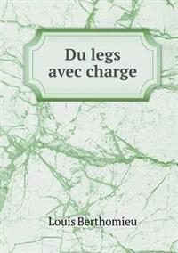 Du Legs Avec Charge