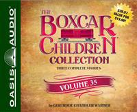 The Boxcar Children Collection, Volume 35: The Sword of the Silver Knight/The Game Store Mystery/The Mystery of the Orphan Train