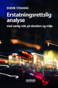 Erstatningsrettslig analyse - med særlig vekt på eiendom og miljø - Endre Stavang pdf epub