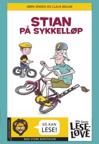 Stian på sykkelløp