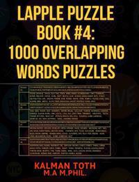 Lapple Puzzle Book #4: 1000 Overlapping Words Puzzles
