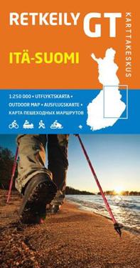 Retkeily GT Itä-Suomi, 1:250 000