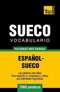 Vocabulario Espanol-Sueco - 7000 Palabras Mas Usadas