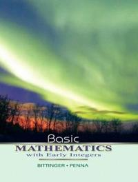Basic Mathematics with Early Integers