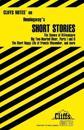 CliffsNotes Hemingway's Short Stories