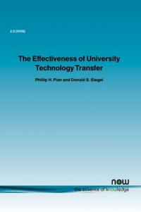 The Effectiveness of University Technology Transfer