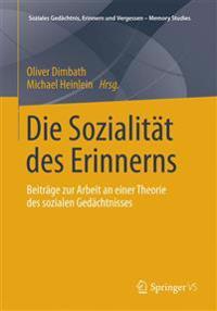 Die Sozialitst Des Erinnerns