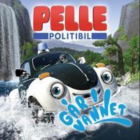 Pelle Politibil går i vannet