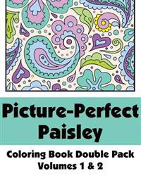 Picture-Perfect Paisley Coloring Book Double Pack (Volumes 1 & 2)