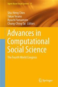 Advances in Computational Social Science