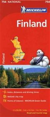 Michelin Finland Map 754