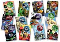 Project X Alien Adventures: Brown Book Band, Oxford Levels 9-11: Brown Book Band Class Pack of 72