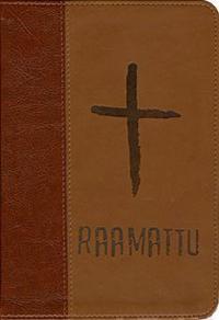 Raamattu (186 mm x 130 mm, ruskea)