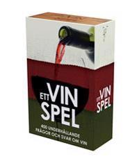 Ett Vinspel - 400 underhållande frågor och svar om vin