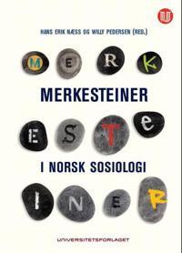 Merkesteiner i norsk sosiologi