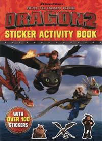 How to Train Your Dragon 2 Sticker Activity Book