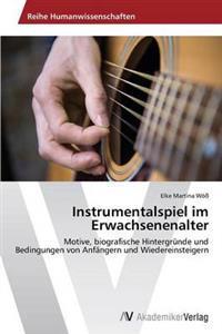 Instrumentalspiel Im Erwachsenenalter