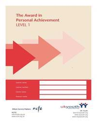 Award in Personal Achievement Workbook Level 1