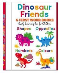 Dinosaur Friends - 6 First Word Books