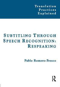 Subtitling Through Speech Recognition