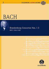 Brandenburg Concertos Nos. 1-3 BWV 1046-1048