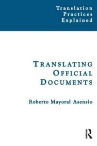 Translating Official Documents