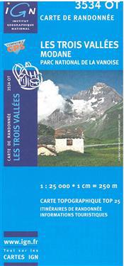 Trois Vallees/Modane PN de la Vanoise GPS