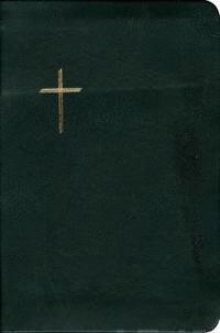 Raamattu (122x180 mm, nahkakansi, reunahakemisto, suojareuna, kultasyrjä,kartasto, 2 lukunauhaa)
