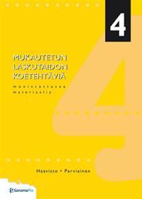 Mukautetun laskutaidon koetehtäviä 4
