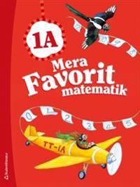 Mera Favorit matematik 1A - Elevpaket (Bok + digital produkt)