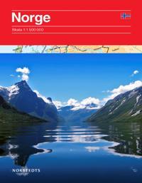 Norge vägkarta : 1:1,5m