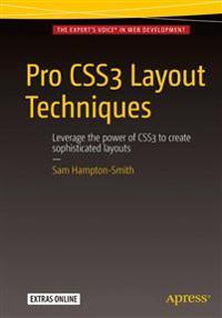 Pro CSS3 Layout Techniques