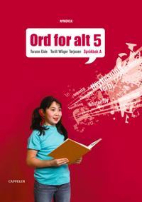Ord for alt ny utgåve 5 - Torunn Eide  Torill Wiiger Tørjesen - böcker (9788202251499)     Bokhandel