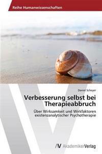 Verbesserung Selbst Bei Therapieabbruch