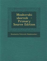 Moskovski sbornik